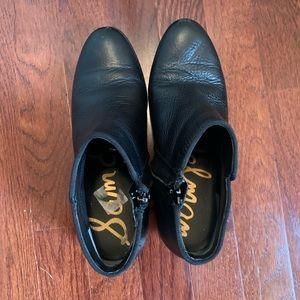 Sam Edelman Petty Black Leather Size 6.5